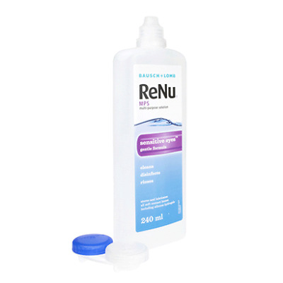 Bausch & Lomb ReNu MPS Multi-Purpose Contact Lens Solution - 240 Ml NEW FREE P&P • 7.99£