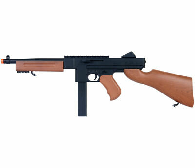 $34.99 • Buy AUTHENTIC OG THOMPSON M1A1 SPRING AIRSOFT SUB MACHINE GUN Tommy Rifle W/ 6mm BB