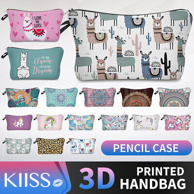 AU7.86 • Buy KIISS Makeup Bag Travel Cosmetic Bag Pouch Wallet Clutch Toiletry Pencil Case