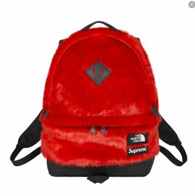 $ CDN322.70 • Buy Supreme/The North Face Faux Fur Backpack Red