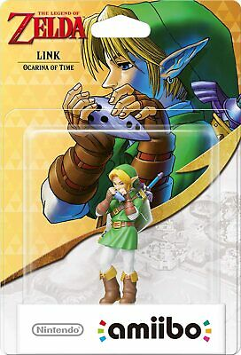AU69.95 • Buy NEW Ocarina Of Time Link Amiibo The Legend Of Zelda Nintendo 3DS Wii Switch AUS