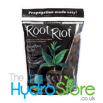 £14.90 • Buy Growth Technology Root Riot Pack Of 50 Cubes Refill Propagation Medium