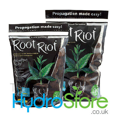 £14.90 • Buy Growth Technology Root Riot Refill Packs Of 50 Or 100 Cubes Refill Propagation