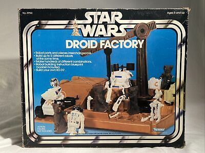 $ CDN126.55 • Buy Vintage Star Wars DROID FACTORY Parts NOT Complete W/ Box Kenner 1979