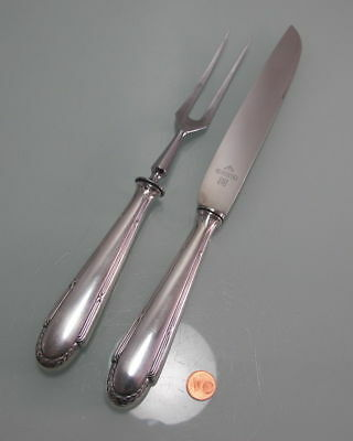 £76.42 • Buy Carving Set WMF Crusade Art Nouveau Model 200 Silver Plated