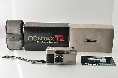 $ CDN1236.98 • Buy [Excellen In Box] CONTAX T2 Point & Shoot 35mm Compact Film Camera From JAPAN167