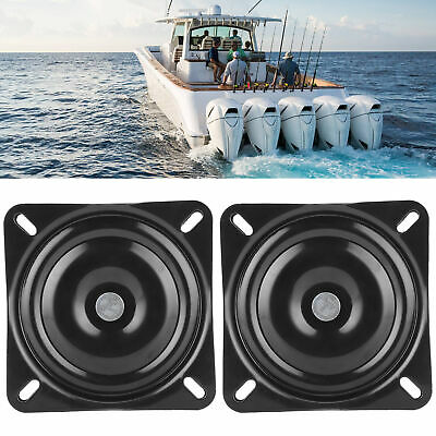 $ CDN82.94 • Buy Pair Seat Swivel Base Mount Plate High Strength 360º Rotating For Marine Boat