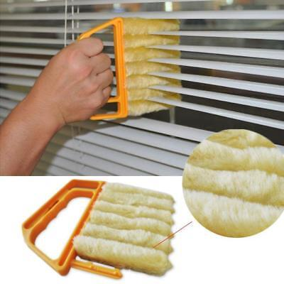 Accessories Cleaner Vertical Window Clean The Vents Window Curtain Blinds Brush • 2.96£