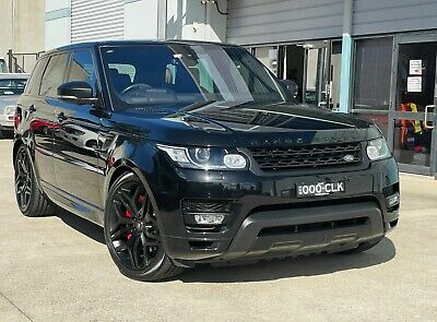 AU124950 • Buy 2016 LAND ROVER RANGE ROVER SDV8 HSE DYNAMIC AUTO AWD WAGON Not Landcruiser BMW