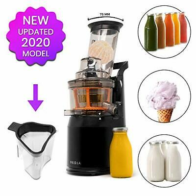 Powerful Masticating Juicer For Whole Fruits And Vegetables, Fresh Healthy • 150.99£