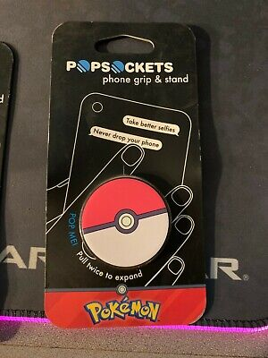 AU24.65 • Buy Popsockets Popsocket Pokemon Pokeball Phone Grip And Stand New