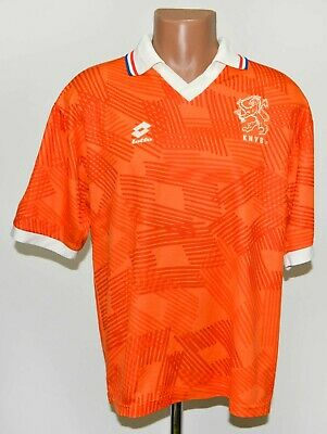 Holland Netherlands 1992/1993/1994 Away Football Shirt Jersey Lotto Size S/m • 99.99£