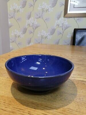 Denby IMPERIAL BLUE COUPE Cereal Bowl (s) • 8.95£