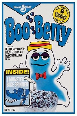 $11.45 • Buy VINTAGE BOO BERRY CEREAL POSTER 12  X 18