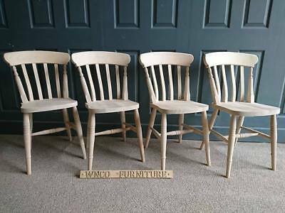 £80 • Buy Brand New Country Style Slat Back Farmhouse Country Kitchen Dining Chair