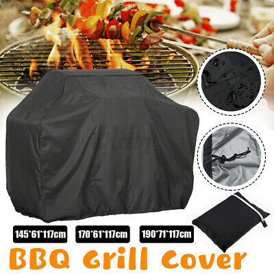 AU17.89 • Buy Waterproof 2 4 6 Burner BBQ Cover Gas Charcoal Barbecue Grill Protector
