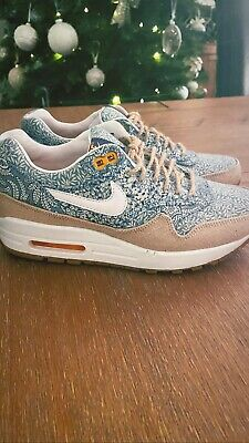 Nike Air Max 1 Liberty Of London Trainers Womens • 90£