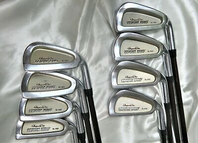 AU80.46 • Buy Mizuno Pro Golf Clubs Tour Big 8pc R-flex Irons Set Inv 0