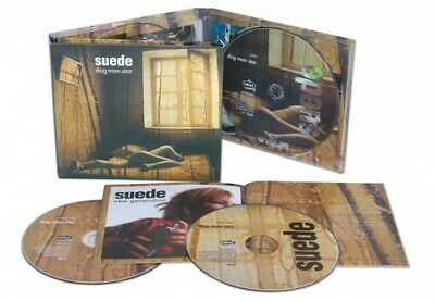 Dog Man Star: Deluxe Edition - 3 DISC SET - Suede (2011, CD NUOVO) • 16.95£
