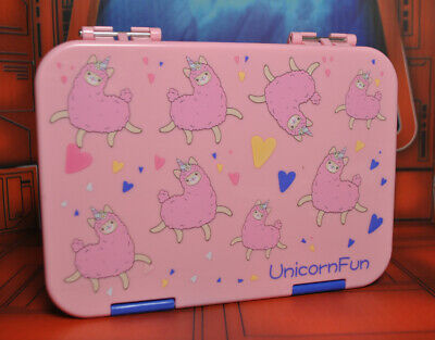 AU26.08 • Buy Unicorn Fun Leakproof Bento Lunch Box Container Adult 6 Compartment Yumbox Style