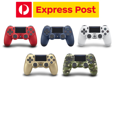 AU95.95 • Buy Genuine Sony DualShock 4 Gold, Red, Midnight Blue V2 Controller PS4 NEW EXPRESS