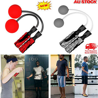 AU13.64 • Buy Ropeless Skipping Rope Adapts Cordless Cordless Weighted Bodybuilding Trainings