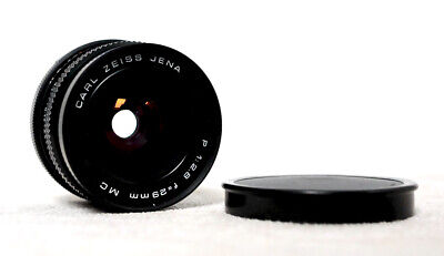 $220.88 • Buy CARL ZEISS JENA MC 29mm 2.8 Wide Angle Prime Lens For M42 Fit With Caps