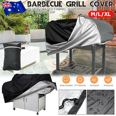 AU21.39 • Buy Waterproof BBQ Cover 2/4/6 Burner Outdoor Gas Charcoal Barbecue Grill Protector.