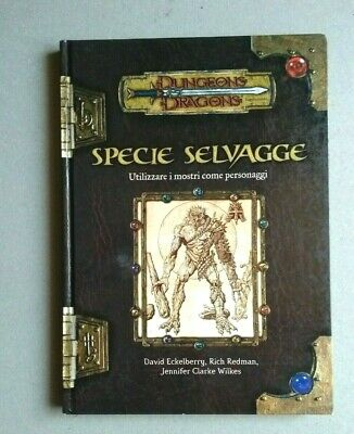 AU117.59 • Buy Specie Selvagge D&D 3.5 Dungeons & Dragons