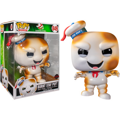AU65 • Buy Ghostbusters - Stay Puft Burnt US Exclusive 10  Pop! Vinyl #849 - NEW
