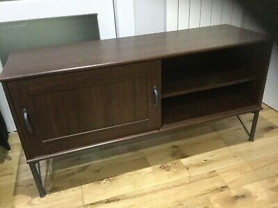 Ikea Brown One Sliding Door Cabinet Tv Unit, Excellent Used Condition • 50£