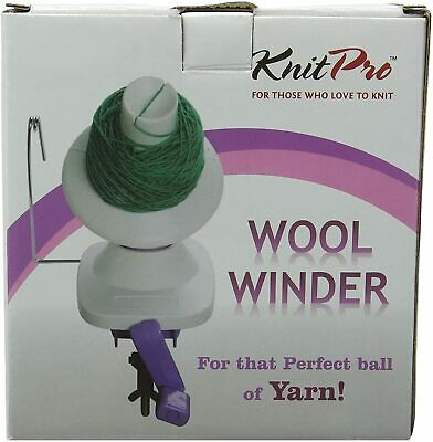 KnitPro Wool Winder Yarn Ball Winder - Table Clamp - Portable • 28.90£