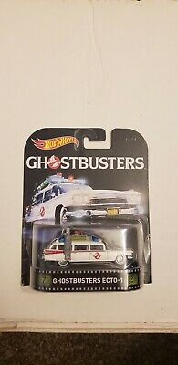 #1:64 Hot Wheels Ghostbusters II ECTO 1A White • 10.82£