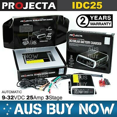 AU302.50 • Buy PROJECTA IDC25 DC To DC Dual Battery Vehicle Charger 12V 25A 3 Stage Camping 4X4
