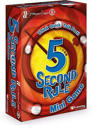 AU15.92 • Buy 5 Second Rule GF003 Mini, Travel Card Game