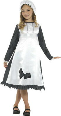 £11.99 • Buy Children's Fancy Dress Historical Festival Party Victorian Maid Costume Outfit