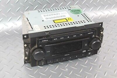 $99.99 • Buy 05-07 GRAND CHEROKEE Radio Stereo Receiver AM FM CD Tuner Player REF OEM