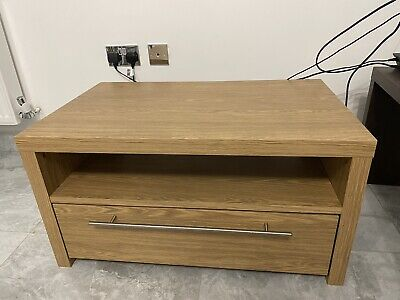 Quality Wooden Tv Stand With Sliding Drawer • 35£