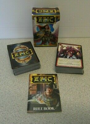 EPIC Card Game By White Wizard Games 2015 - Made In The USA • 9.99£