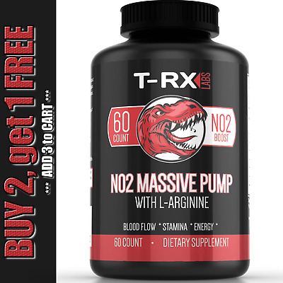 £10.90 • Buy Nitric Oxide L-Arginine Pre Workout+Testosterone Booster,Muscle Pill,Amino Acid