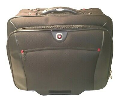Wenger Potomac Wheeled Rolling Laptop Breifcase Swiss Army Travel Carry On Bag • 42.83£