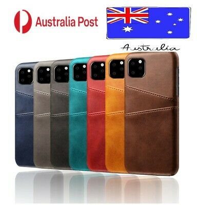 AU8.95 • Buy Shockproof Cover For IPhone 12/Pro/Max/Mini Leather Case Wallet Card Holder AUS