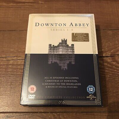 Downton Abbey The Complete Series 1-4 Collection New Sealed • 12.90£