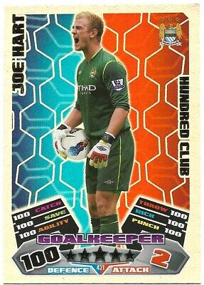 £4.95 • Buy Match Attax 2011/12 Joe Hart 100 Hundred Club No 421