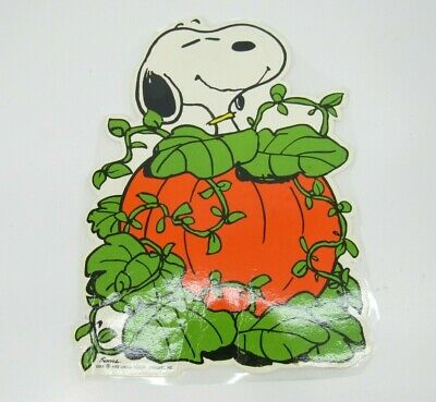 $ CDN25.37 • Buy VTG 1958 Snoopy Great Pumpkin Halloween Die Cut Peanuts Hallmark Paper Cutout