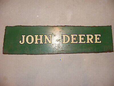 John Deere Farm Machinery Cutout Metal Sign  • 21.09£