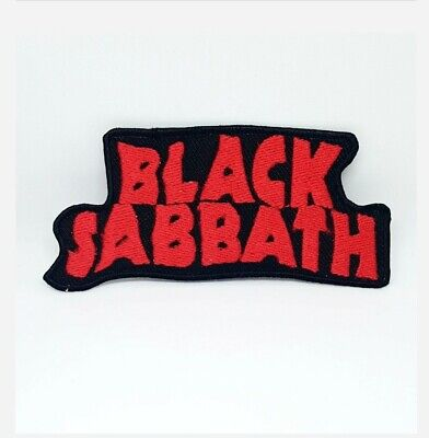 £1.79 • Buy Black Sabbath Music Rock Band Iron On Sew On Embroidered Patch