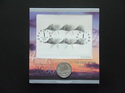 £29.50 • Buy ~Simply Coins~ 2000 MILLENIUM 5 FIVE POUND COIN VERY RARE FIRST DAY COVER