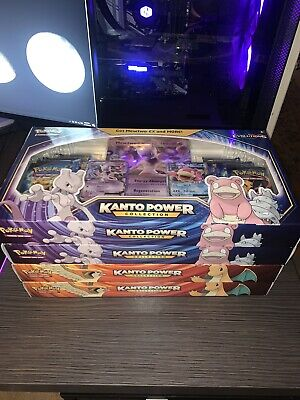 $789.99 • Buy Pokemon! XY Evolutions Kanto Power Collection EX NEW LOT OF 4 (2 Of Each Color)