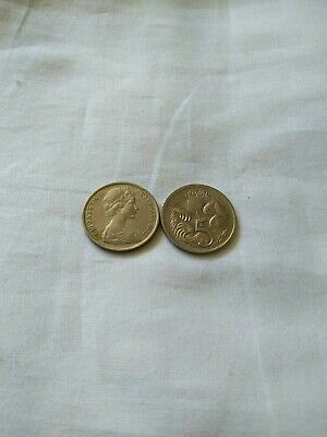 AU8.75 • Buy 1972 5 Cent Coins Circ Low Mintage 1 Coin